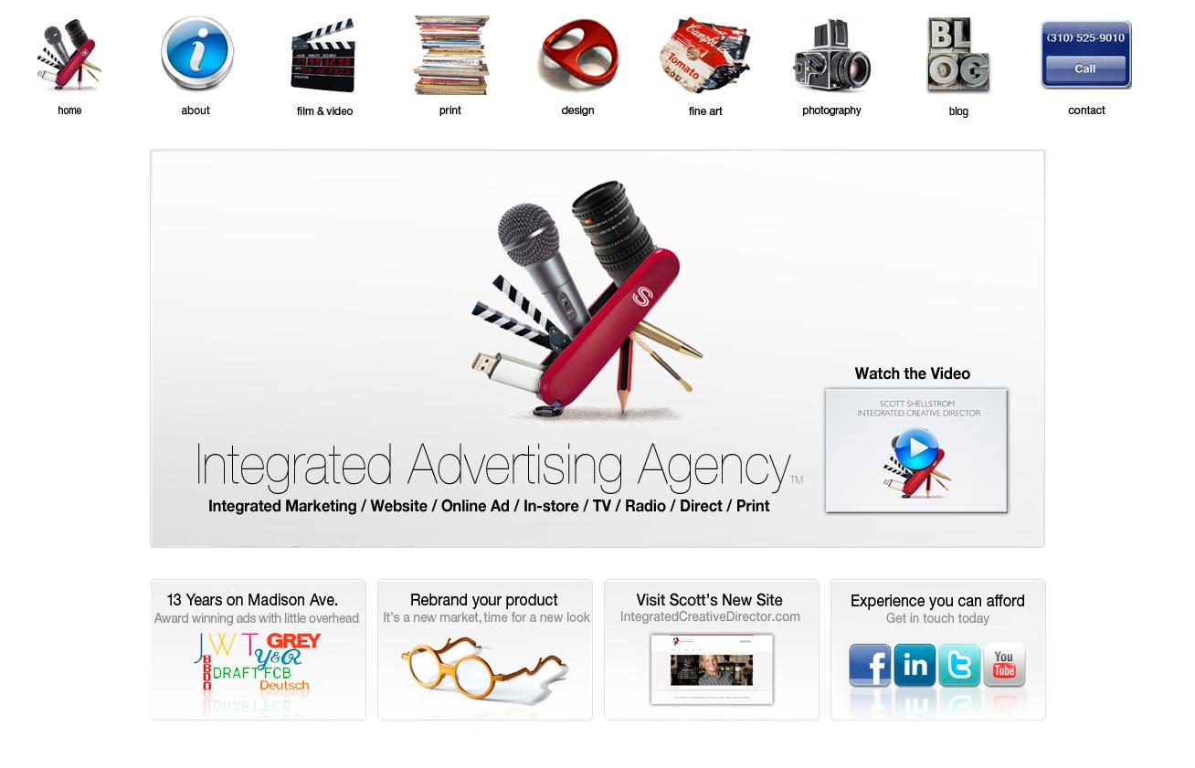 Advertising agency christmas video